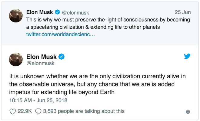 Elon Musk cho rằng đây là lí do chúng ta cần phải xây dựng nền văn minh nhân loại trong không gian - Ảnh 3.