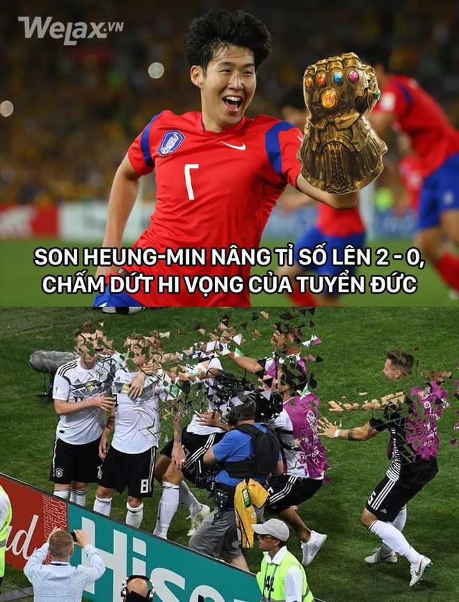 Hàn Quốc rủ Đức cùng tạm biệt World Cup, vậy là Hàn hit Đức with that Ddu-du Ddu-du đã trở thành sự thật! - Ảnh 3.