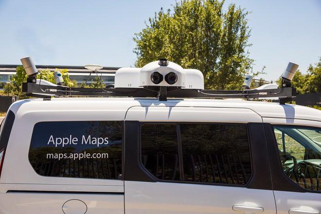 Apple tự thu thập dữ liệu bản đồ, quyết tâm đập đi xây lại Apple Maps để cạnh tranh với Google Maps - Ảnh 1.