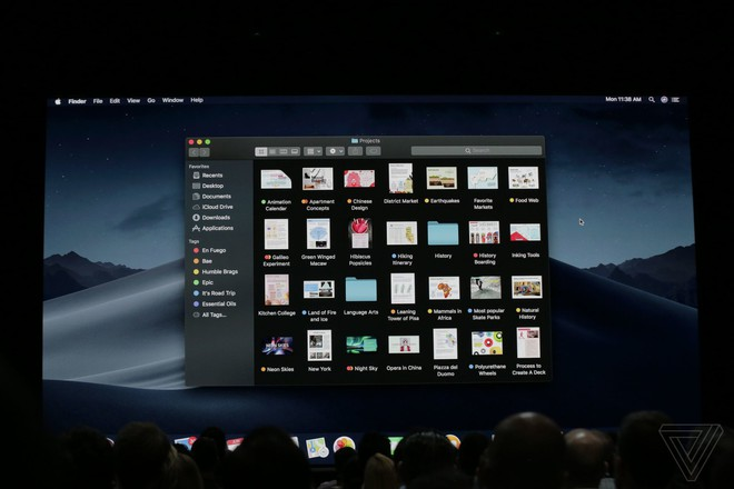 Dark Mode đã chính thức xuất hiện trên macOS Mojave.