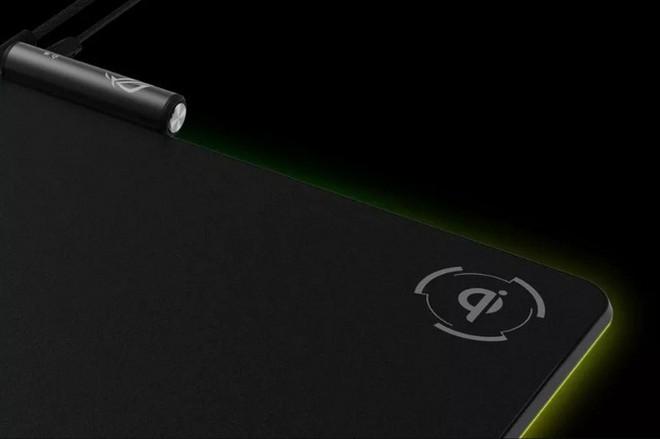 [Computex 2018] Asus ra mắt bàn di chuột dành cho game thủ, tích hợp LED và bộ sạc không dây chuẩn Qi - Ảnh 3.