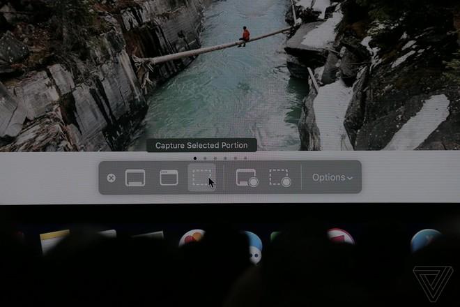 Khả năng chụp màn hình cũng trở nên thông minh hơn với macOS Mojave.