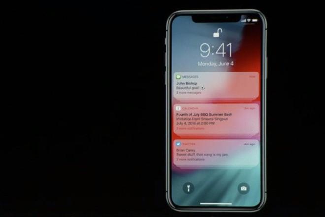 [WWDC 2018] Cuối cùng Apple cũng cập nhật tính năng gộp thông báo cho iOS - Ảnh 1.