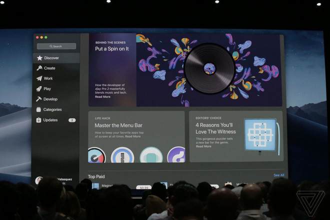 [WWDC 2018] Apple thiết kế lại Mac App Store trên macOS Mojave, bổ sung Office 365, Adobe Lightroom CC - Ảnh 1.