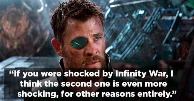 Diễn viên thủ vai Thor - Chris Hemsworth cho biết Avengers 4 sẽ gây sốc hơn cả Infinity War - Ảnh 2.
