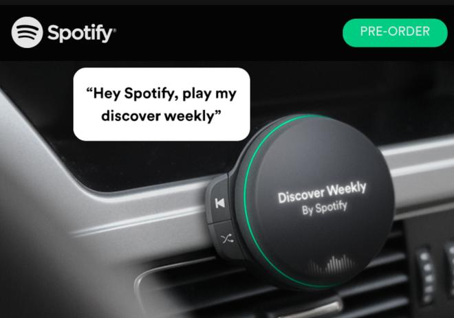 Spotify đang phát triển một thiết bị phần cứng có khả năng kết nối không dây? - Ảnh 2.