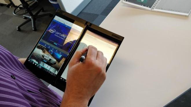 Sau Microsoft và Dell, đến lượt Intel cũng chạy theo xu hướng PC màn hình gập - Ảnh 2.