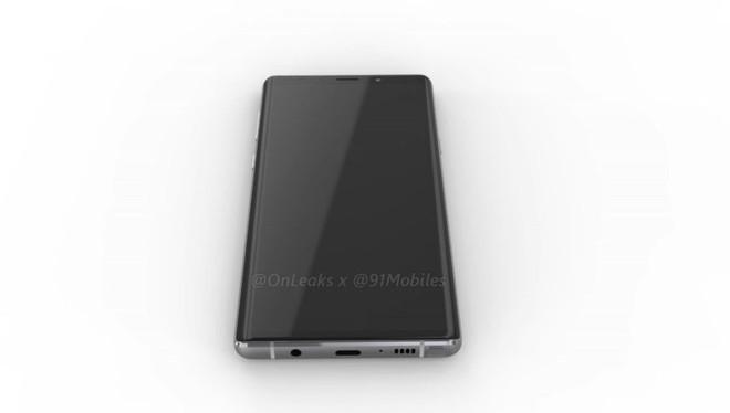 Đây là Samsung Galaxy Note9, màn hình không tai thỏ, thiết kế hao hao Note8 - Ảnh 2.