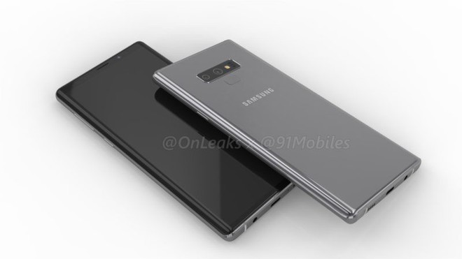 Đây là Samsung Galaxy Note9, màn hình không tai thỏ, thiết kế hao hao Note8 - Ảnh 8.