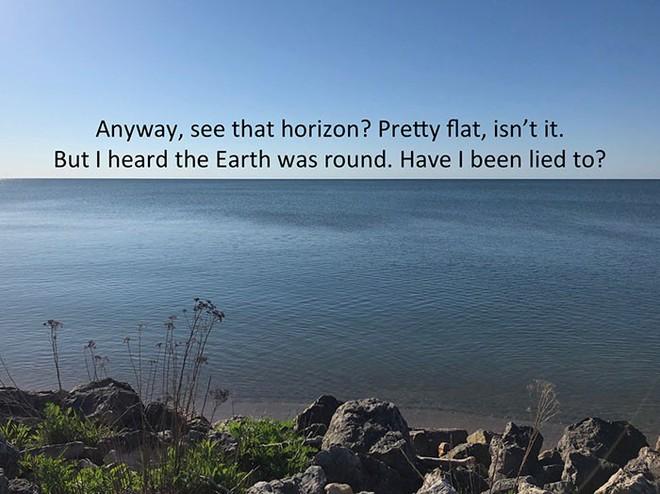 Bằng cách cực kì khéo léo, anh chàng này đã chứng minh rằng Trái Đất không phải là hình phẳng - Ảnh 8.