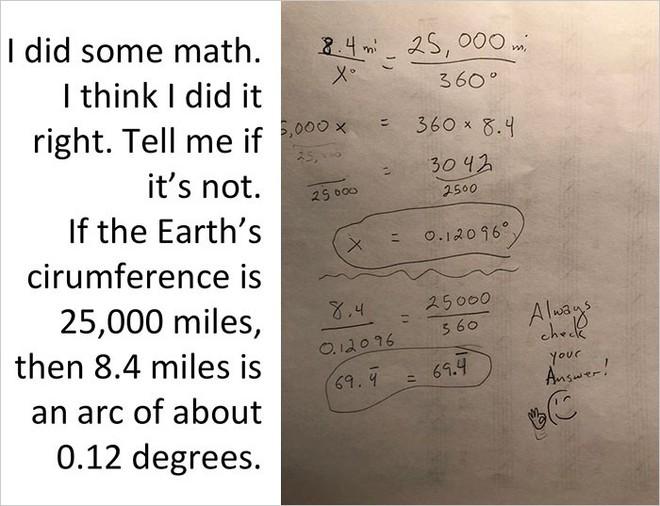 Bằng cách cực kì khéo léo, anh chàng này đã chứng minh rằng Trái Đất không phải là hình phẳng - Ảnh 15.
