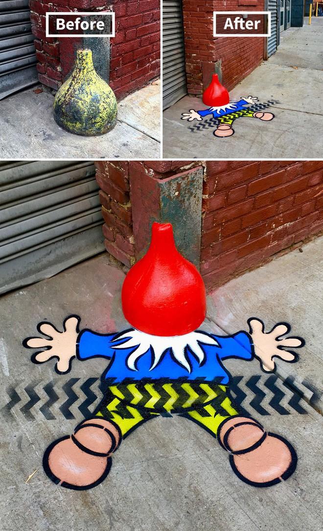 Nhờ graffiti, những khung cảnh buồn tẻ nhất ở New York bỗng trở nên đẹp đẽ đến lạ thường - Ảnh 12.