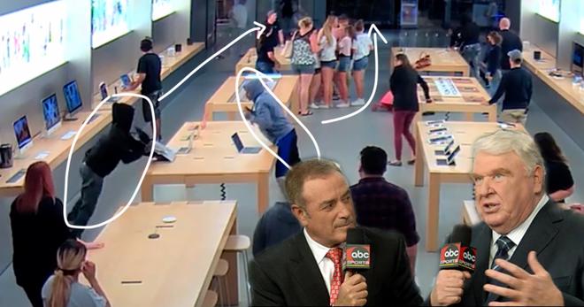 Chỉ vài ngày sau vụ cướp ở New York, đến lượt Apple Store tại California bị hỏi thăm - Ảnh 2.