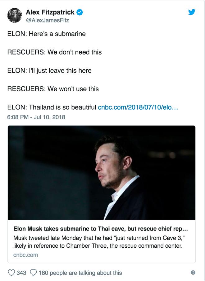 Chiếc tàu ngầm trẻ em dùng để giải cứu đội bóng Thái bị chê là không thực tiễn, Elon Musk lập tức nổi cơn tam bành trên Twitter - Ảnh 6.