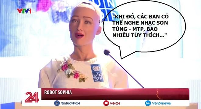 Sophia: Robot sẽ giúp con người có thêm thời gian rảnh để nghe nhạc Sơn Tùng M-TP - Ảnh 3.