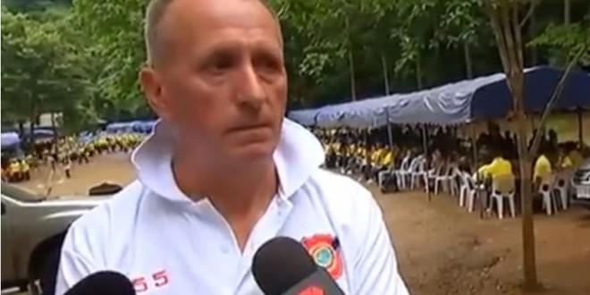 Thợ lặn Vernon Unsworth, người đã tham gia giải cứu đội bóng nhí bị mắc kẹt trong hang động tại Thái Lan.