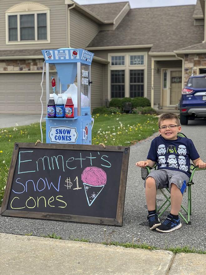 Ông bố dạy con bài học đầu tiên về tiền bạc, không ngờ cậu bé lại kinh doanh thành công ngay từ khi 6 tuổi - Ảnh 4.