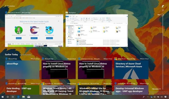 Chrome, Firefox và Vivaldi đã hỗ trợ tính năng Timeline trên Windows 10 - Ảnh 1.