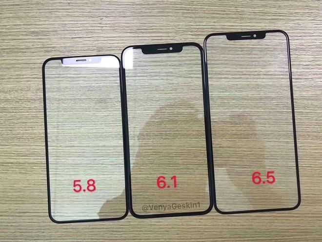 Lộ kính màn hình bộ ba iPhone 2018, iPhone LCD 6.1 inch có viền mỏng ấn tượng - Ảnh 1.