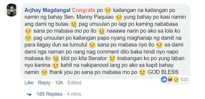 Hứa hẹn tặng 60 ngôi nhà, trang Facebook Manny Pacquiao giả mạo khiến dân mạng Philippines điên đảo - Ảnh 2.