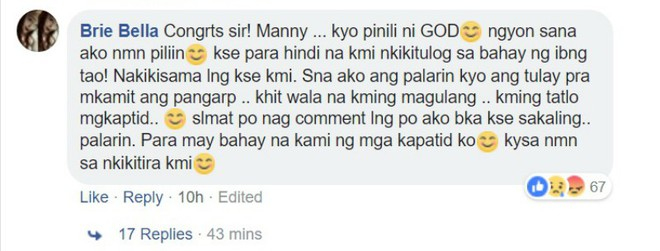 Hứa hẹn tặng 60 ngôi nhà, trang Facebook Manny Pacquiao giả mạo khiến dân mạng Philippines điên đảo - Ảnh 4.