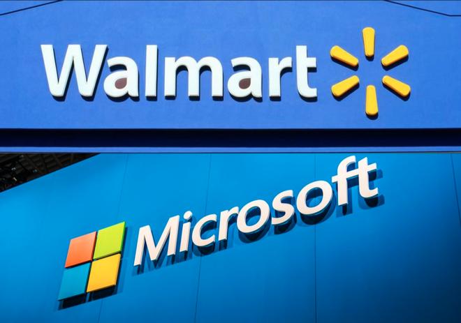 Microsoft bắt tay với chuỗi siêu thị Walmart nhằm lật đổ Amazon trên mọi phương diện - Ảnh 1.