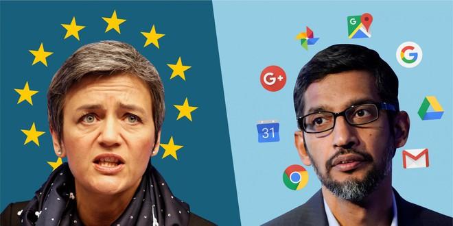 CEO của Google: Án phạt của EU là một chiến thắng lớn dành cho Apple - Ảnh 1.