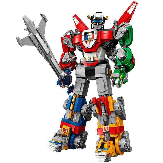 Trở về tuổi thơ với bộ LEGO Dũng sĩ Hesman đủ 5 con sư tử 2321 mảnh nhưng giá hơi cao tận 4 triệu - Ảnh 2.