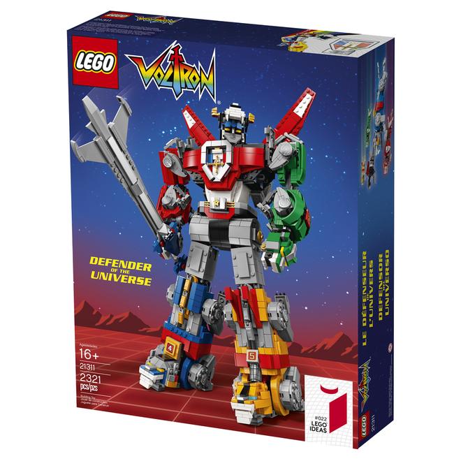 Trở về tuổi thơ với bộ LEGO Dũng sĩ Hesman đủ 5 con sư tử 2321 mảnh nhưng giá hơi cao tận 4 triệu - Ảnh 3.