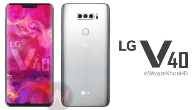 LG V40 lộ thông số kỹ thuật với 5 camera, nhận diện khuôn mặt 3D, ra mắt vào tháng 9 - Ảnh 1.
