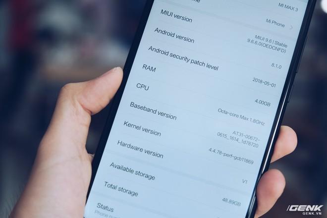 Mở hộp Xiaomi Mi Max 3 mới về VN: Màn hình lớn, pin trâu, giá gần 7 triệu đồng - Ảnh 15.