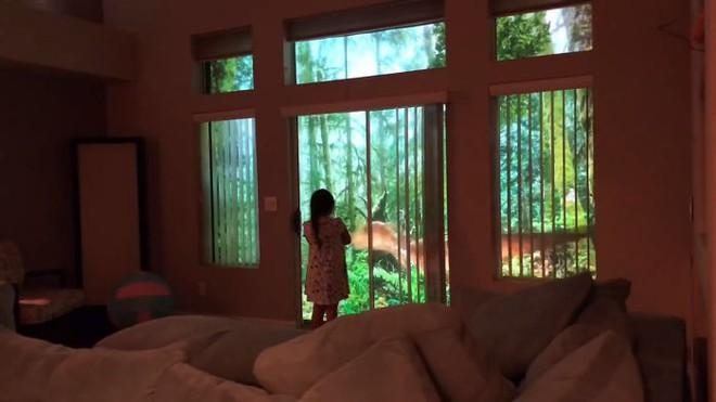 Chỉ bằng máy chiếu, ông bố khiến cô con gái mê khủng long vỡ òa trong thích thú - Ảnh 6.