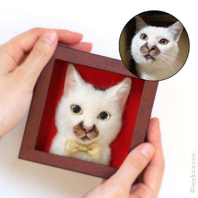 Nghệ sĩ Nhật Bản khiến cư dân mạng trầm trồ vì khả năng tạo hình mèo 3D từ len giống y như mèo thật - Ảnh 17.