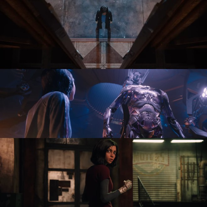 Cha đẻ Avatar tung trailer như muốn kể tuốt tuột cả phim về thiên thần nửa người nửa máy - Ảnh 4.