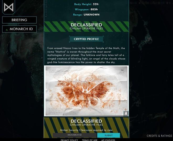 Thích thú với website của tổ chức Monarch đến từ phim Godzilla tạo ra giúp fan nghiên cứu về quái vật - Ảnh 4.