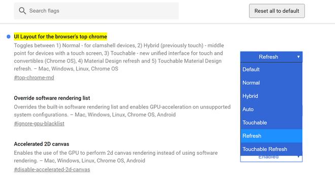 Google đã cho phép kích hoạt giao diện Material Design mới của Chrome, dùng thử ngay thôi - Ảnh 2.