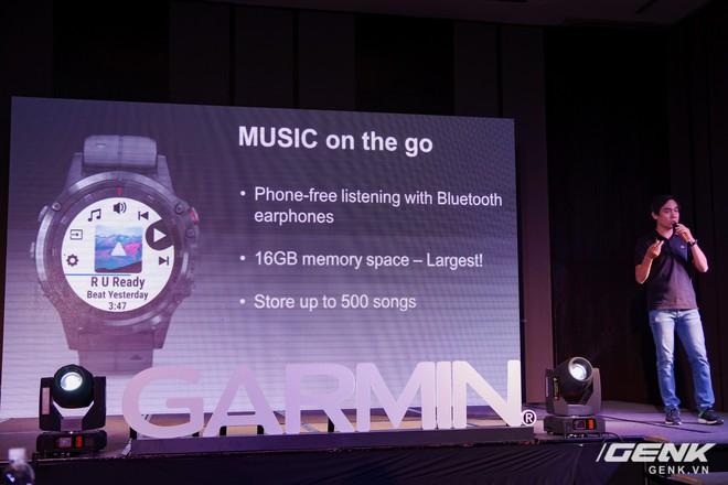 Garmin ra mắt fēnix 5 Plus và vívoactive 3 Music: nâng cấp bản đồ GPS, phát nhạc mp3 qua Bluetooth, giá từ 8 đến 20 triệu đồng - Ảnh 8.