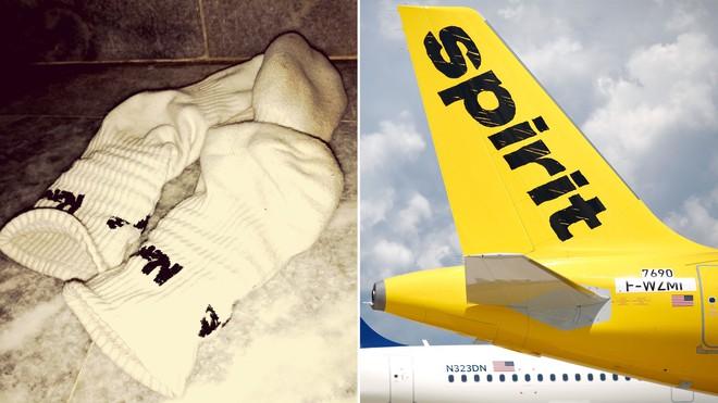 Mỹ: Mùi tất thối khiến máy bay phải hạ cánh khẩn cấp, hành khách nhập viện vì nghi hít phải khí độc - Ảnh 1.