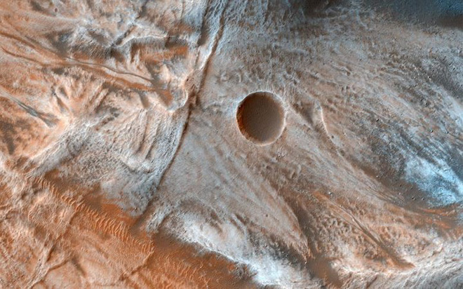 Cận cảnh bề mặt kỳ thú trên Sao Hỏa trong loạt ảnh mới nhất của NASA - Ảnh 4.