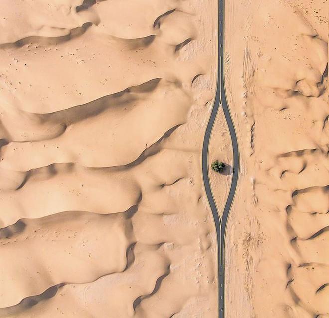 [Chùm ảnh] Dubai không chỉ có những tòa nhà cao tầng mà còn có cả những cao tốc trải đầy cát sa mạc - Ảnh 14.