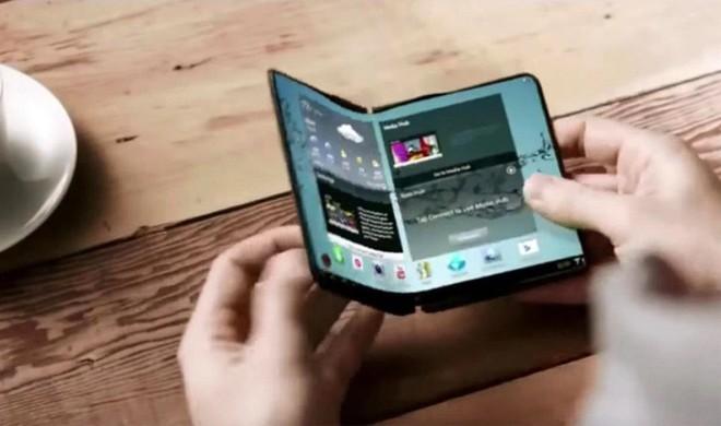 Samsung có thể sử dụng giải pháp thông báo thông minh trên chiếc smartphone màn hình gập Galaxy X - Ảnh 2.