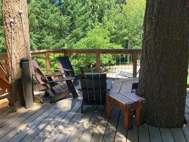Chiêm ngưỡng ngôi nhà trên cây mà Microsoft làm cho nhân viên: Gặp gỡ, làm việc hay tắm nắng đều được - Ảnh 10.