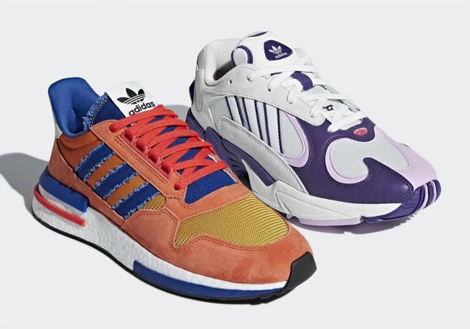 Cùng soi Goku và Frieza, hai mẫu giày trong BTS adidas x Dragon Ball Z sẽ lên kệ vào tháng 8 - Ảnh 1.