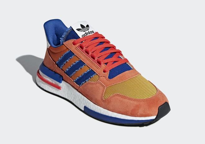 Cùng soi Goku và Frieza, hai mẫu giày trong BTS adidas x Dragon Ball Z sẽ lên kệ vào tháng 8 - Ảnh 3.