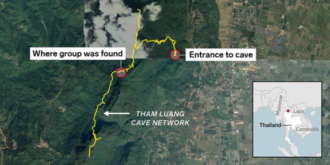 Vụ đội bóng thiếu niên ở Thái Lan bị mắc kẹt: Chính quyền sẽ lắp đặt cáp quang trong hang để các em được lên mạng - Ảnh 4.