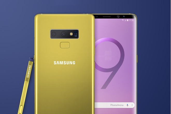 Sau tất cả, phiên bản màu vàng của Galaxy Note9 có thể không được ra mắt - Ảnh 1.