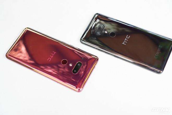 Ảnh thực tế HTC U12 Plus tại Việt Nam: phím bấm cảm biến lực, 4 camera, màn hình tràn viền không tai thỏ - Ảnh 3.