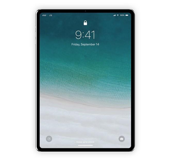 [Concept] Đây là vẻ đẹp của iPad Pro với Face ID sắp ra mắt - Ảnh 2.