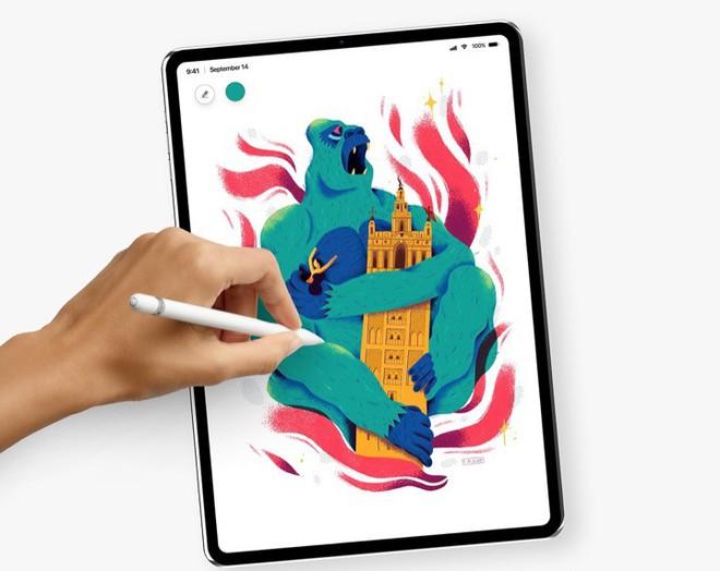 [Concept] Đây là vẻ đẹp của iPad Pro với Face ID sắp ra mắt - Ảnh 3.