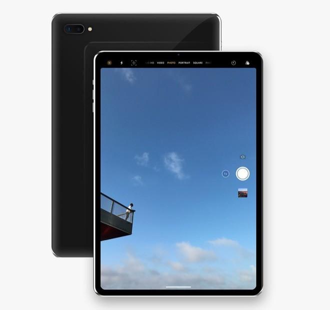 [Concept] Đây là vẻ đẹp của iPad Pro với Face ID sắp ra mắt - Ảnh 4.